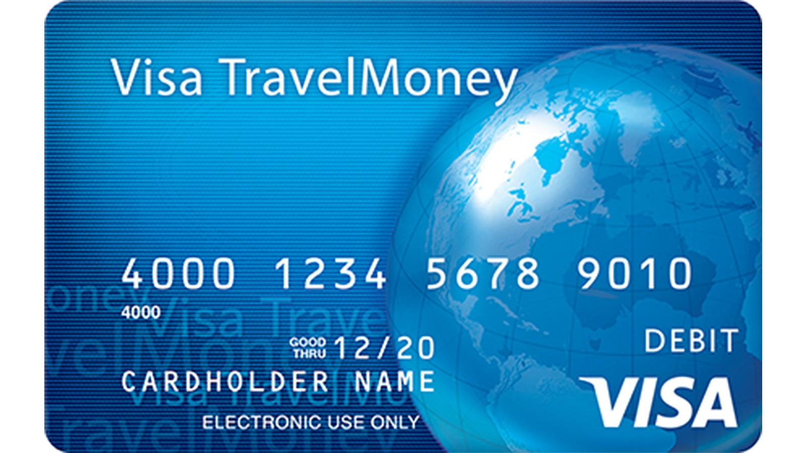 Visa Reloadable Travel Card