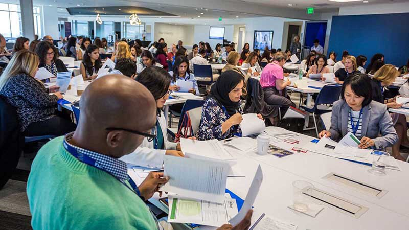 Group of women and men gain skills to aid in job search at Ready to Return conference