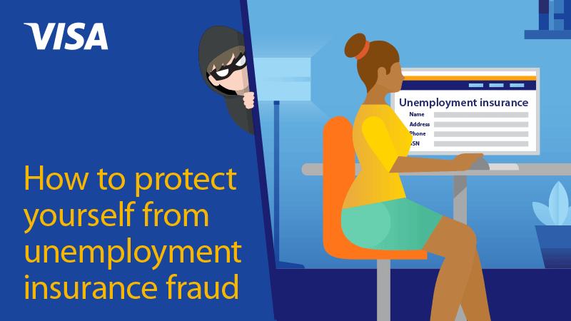 Preview of infographic about How to protect yourself from unemployment insurance fraud