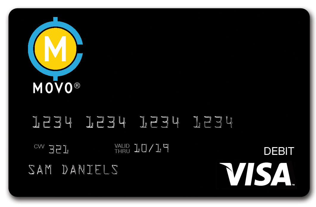 MOVO® Virtual Prepaid Visa® Card