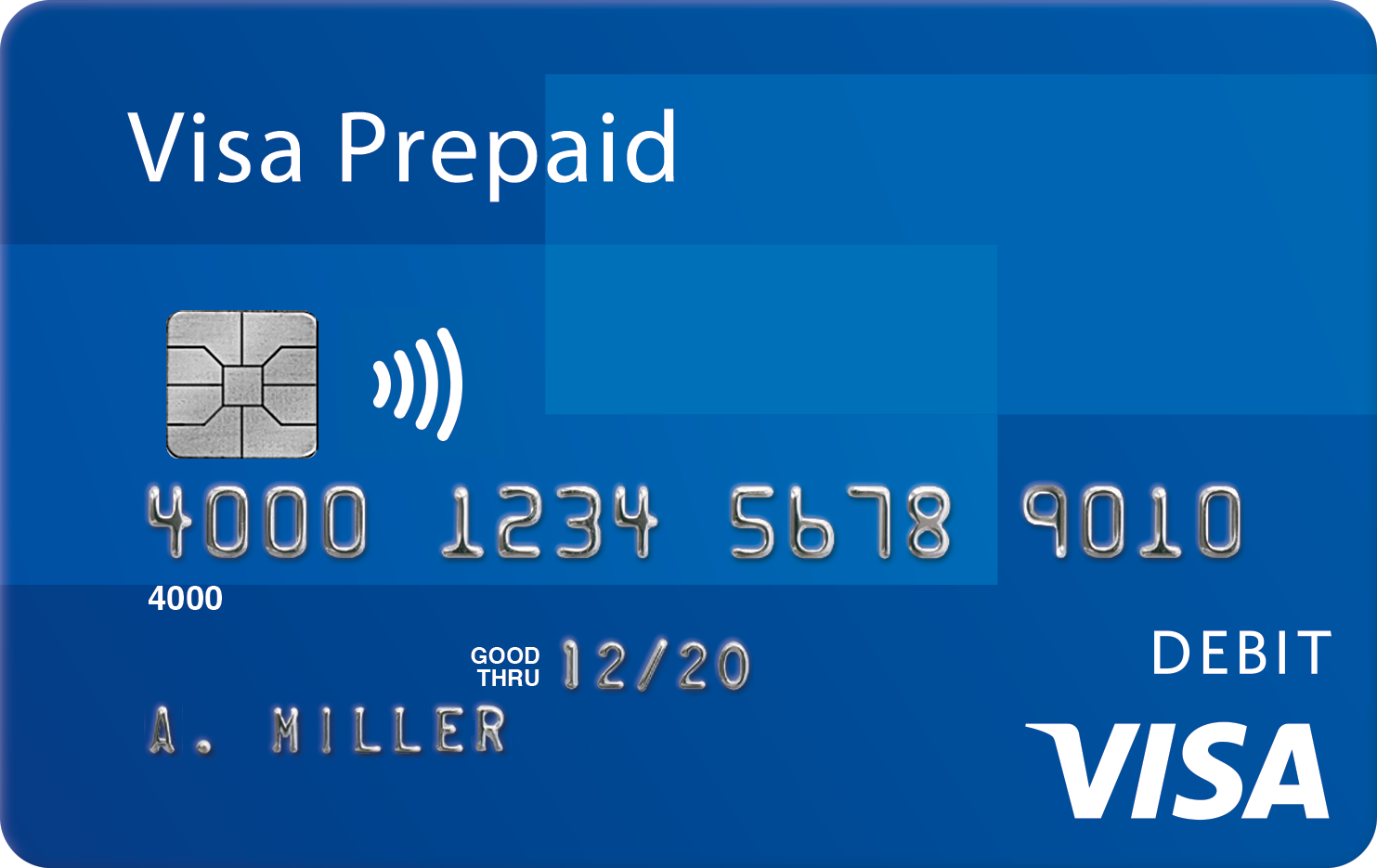 an image of Visa Business Prepaid card