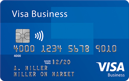 an image of Visa Business Credit card