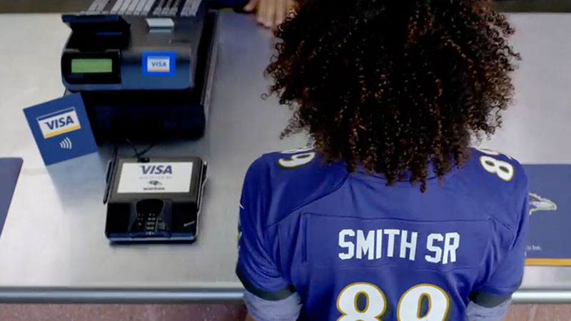 game day with visa