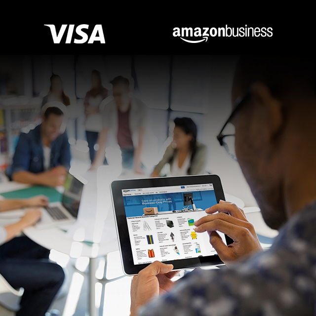 Visa and Amazon Business