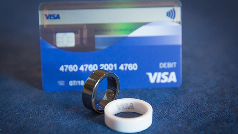 visa payment ring