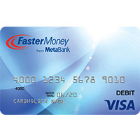 FasterMoney® Visa® Prepaid Card