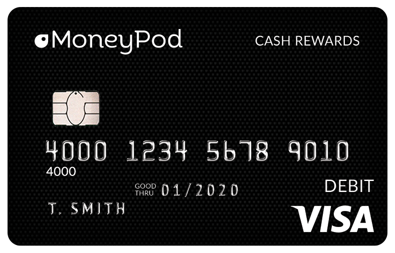 ACCEL Cash Rewards Debit Card by MoneyPod