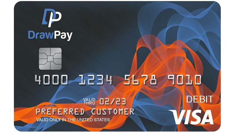 DrawPay Commercial Visa® Prepaid Card
