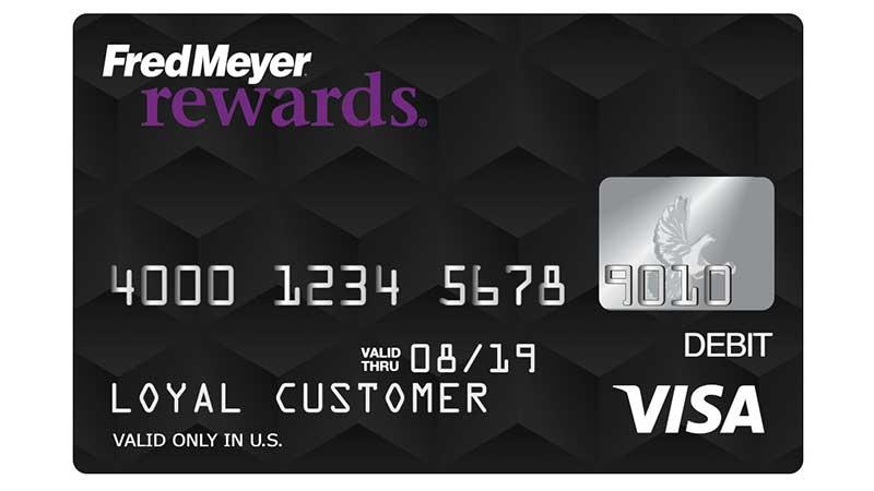 Fred Meyer Rewards® Prepaid Visa®