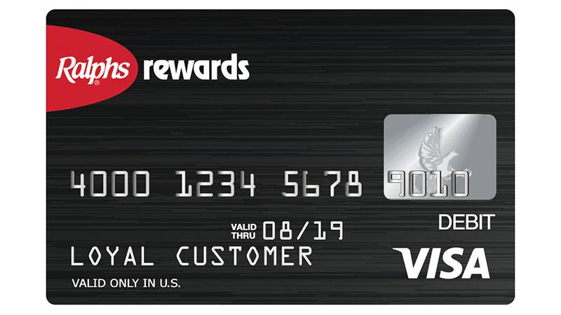 Ralphs Rewards Prepaid Visa®