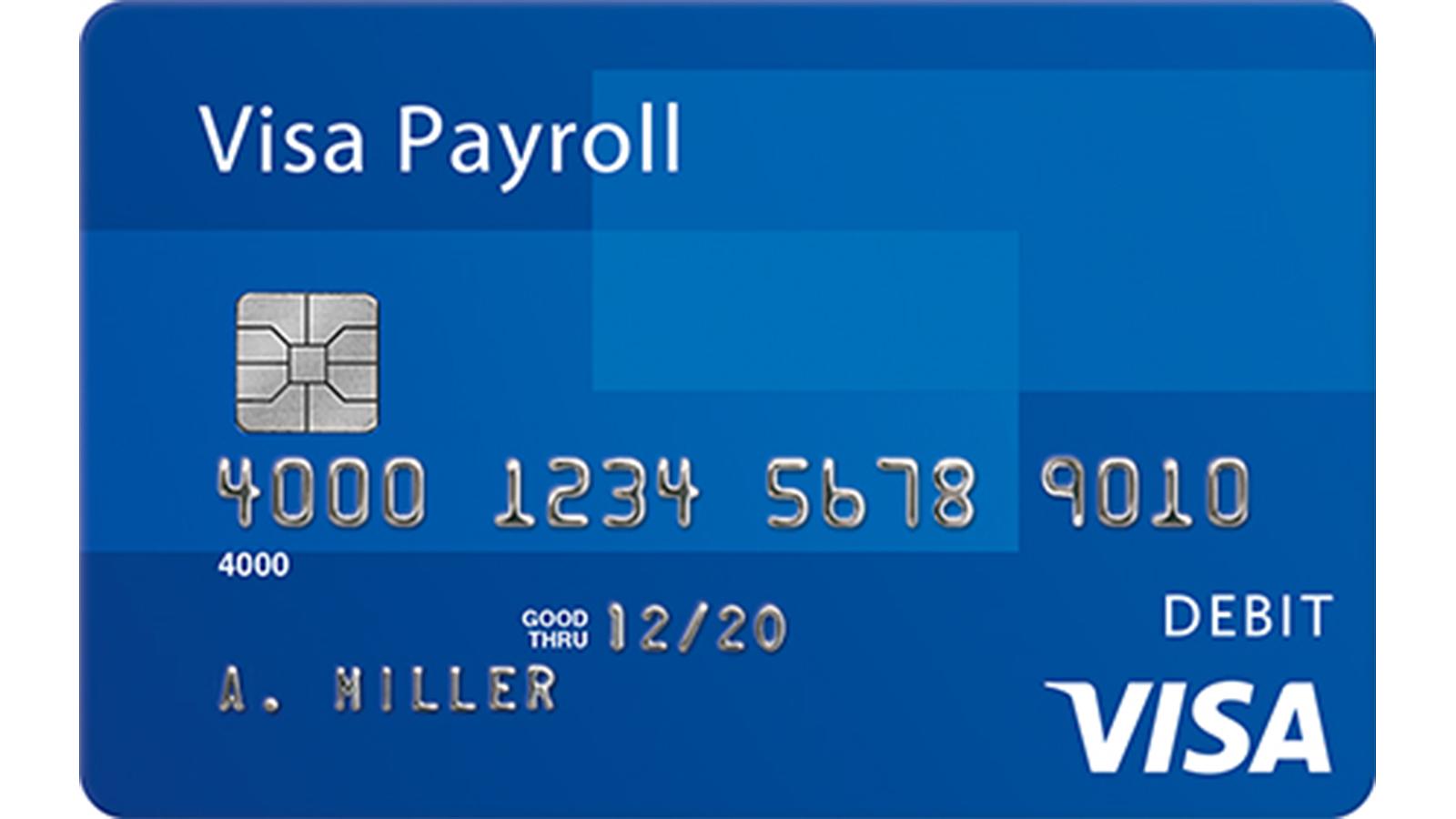 Visa prepaid cards with readylink visa visa payroll card colourmoves