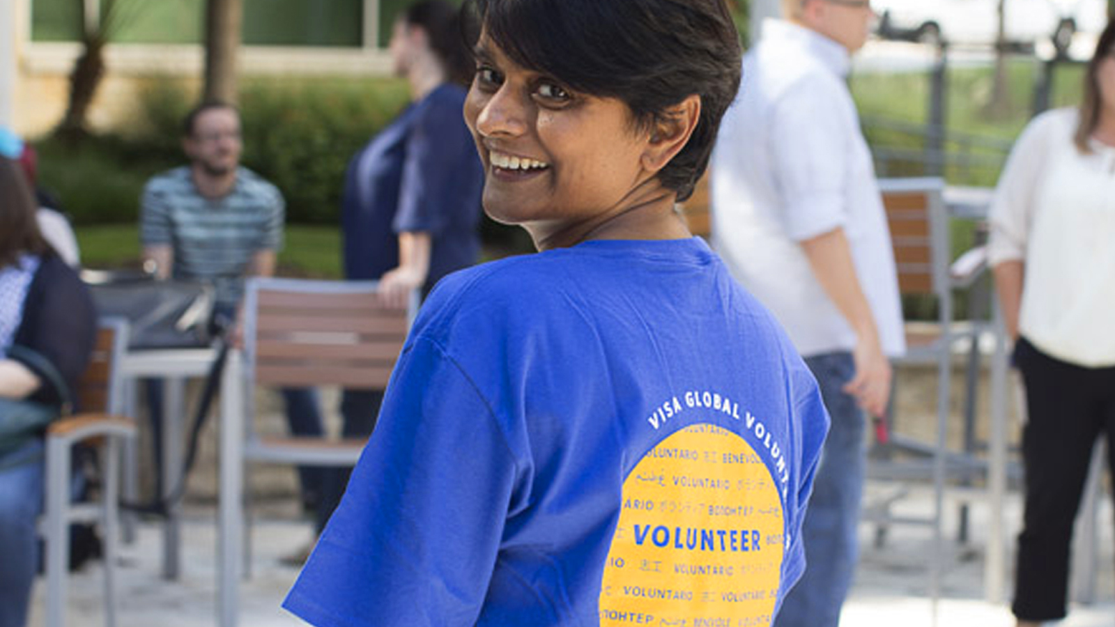 Visa volunteer