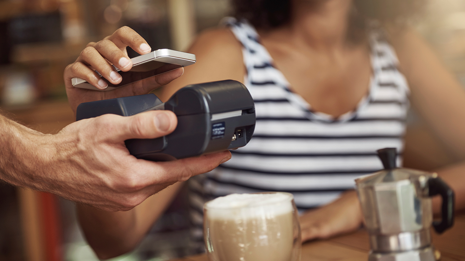 Contactless payment by mobile phone