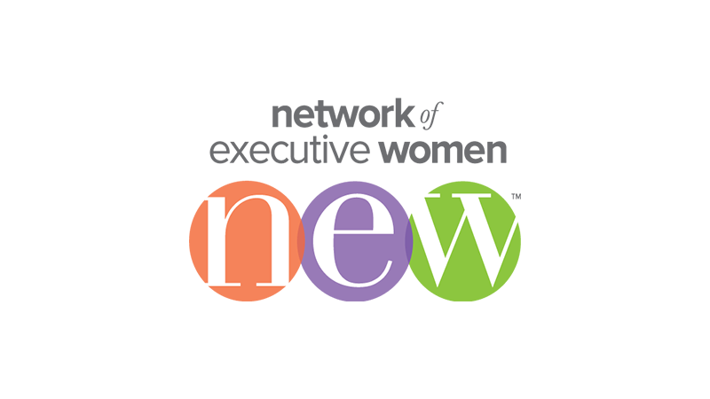 Network of executive women logo.