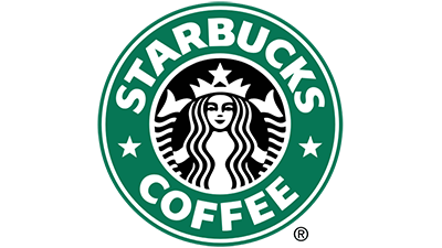 Starbucks coffee logo.
