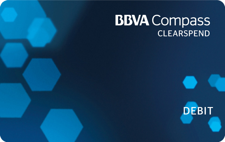 BBVA Compass ClearSpend Prepaid Card