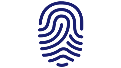 Illustration of fingerprint.