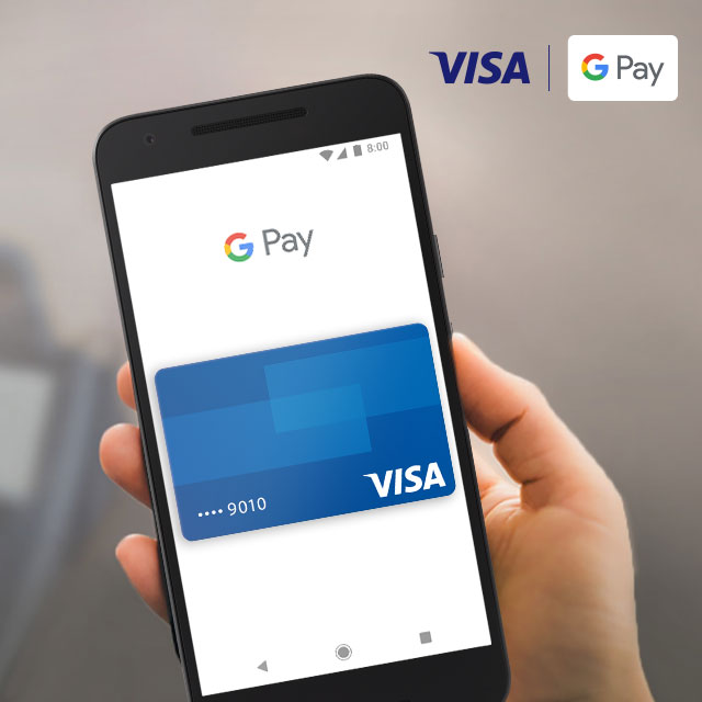 Visa with Google Pay