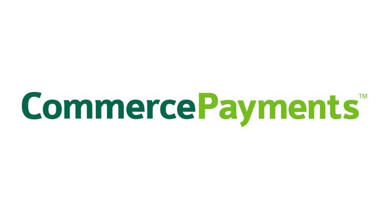 Commerce Payments logo.