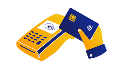 contactless payment icon