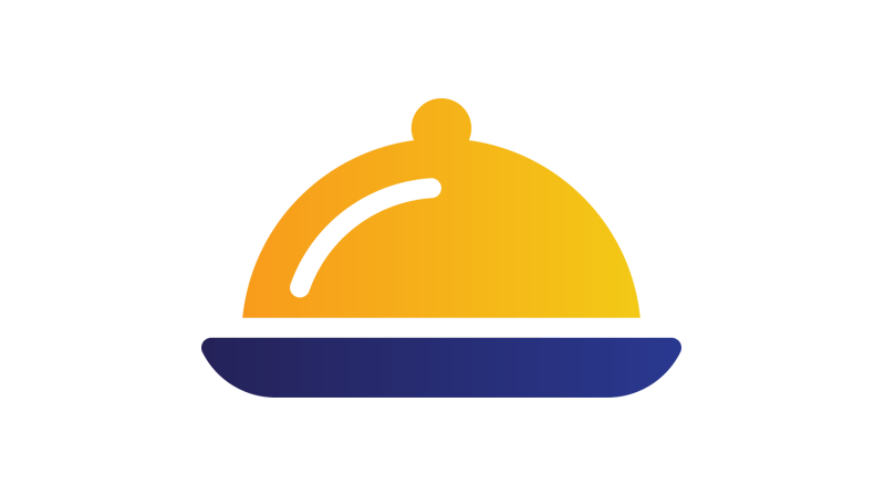 Illustration: cloche used in restaurants.