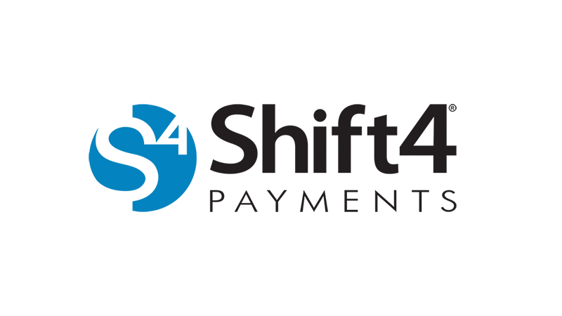 Shift4 Payments logo.