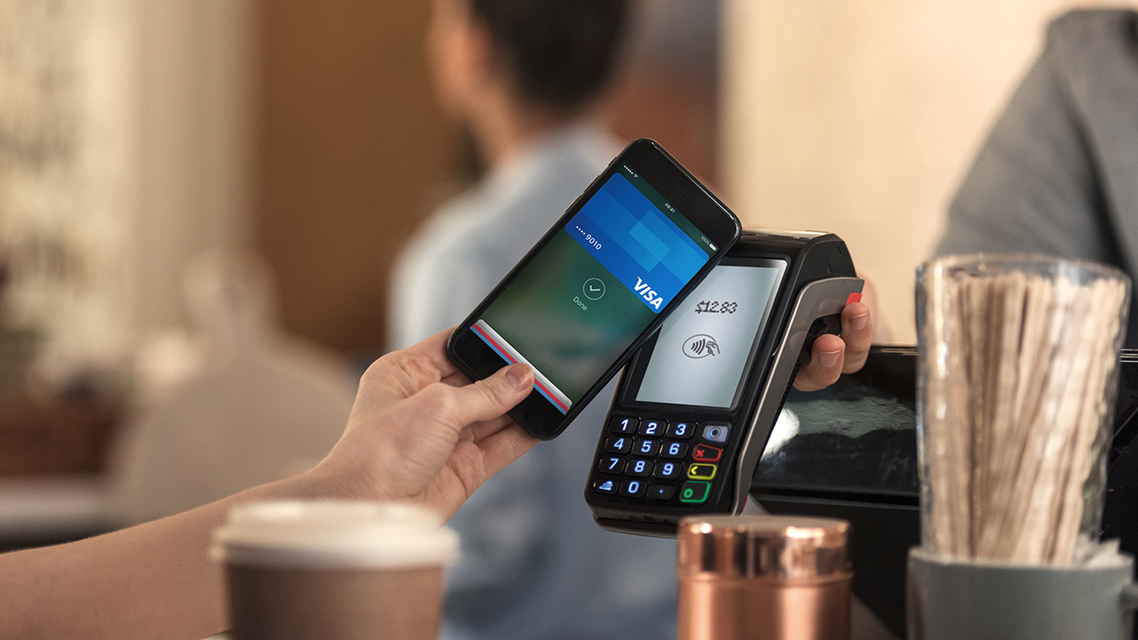 smart phone with contactless payment