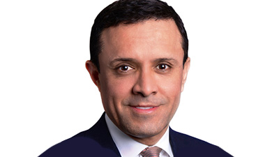 Portrait of Visa's Chief risk officer Paul Fabara.