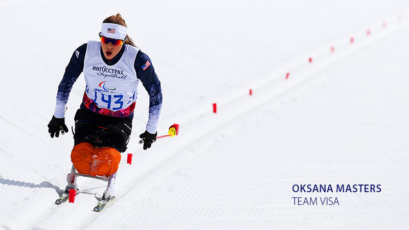 Para cross-country skier Oksana Masters