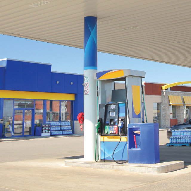 pay with visa at the pump