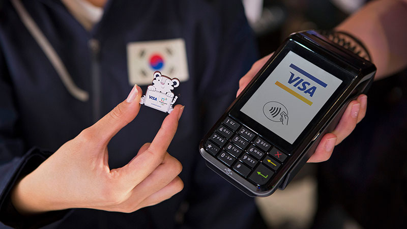 payment wearables at olympic winter games