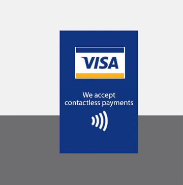 graphic relating to We Accept Credit Card Signs Printable identify POS Legal guidelines Visa