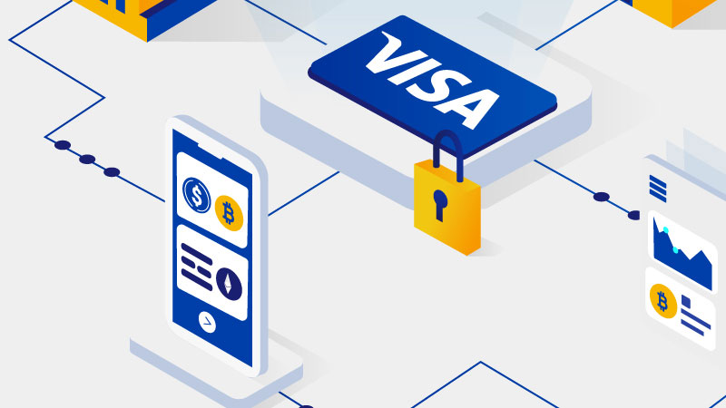 bitcoin į vizą