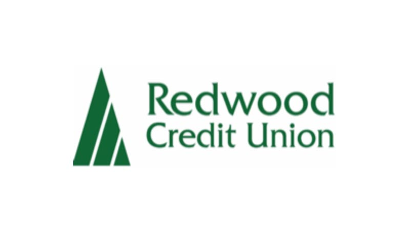 Redwood Credit Union logo.