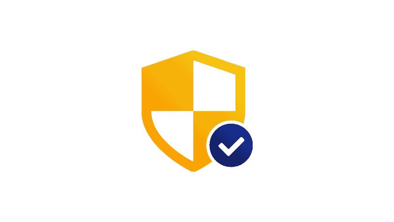 security shield check mark