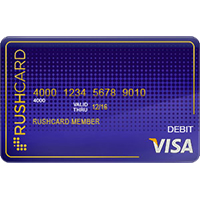 Midnight Prepaid Visa® RushCard