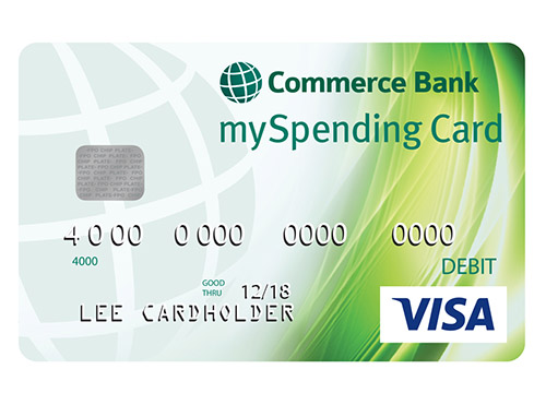 Commerce Bank mySpending Card