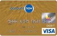 AccountNow Gold Visa® Prepaid Card