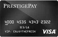 PrestigePay Visa® Prepaid Card
