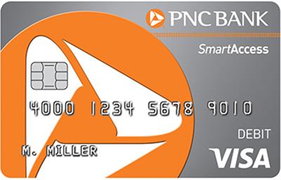 PNC SmartAccess® Prepaid Visa® Card