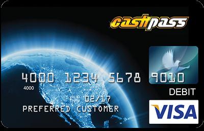 Cashpass Visa Prepaid Card