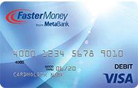 FasterMoney® Visa® Prepaid Card