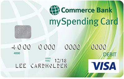 Commerce Bank mySpending Card